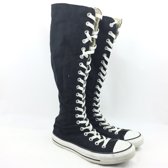 13586471ae5 Converse Shoes - Converse Chuck Taylor Knee High Chucks Lace Up 5